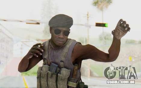 CoD MW3 Africa Militia v1 para GTA San Andreas