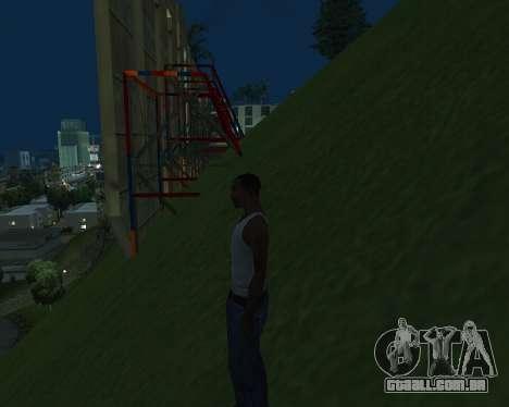 New Vinewood Armenia para GTA San Andreas por diante tela