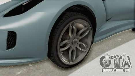 GTA 5 Grotti Bestia GTS v2 SA Lights para GTA San Andreas vista traseira