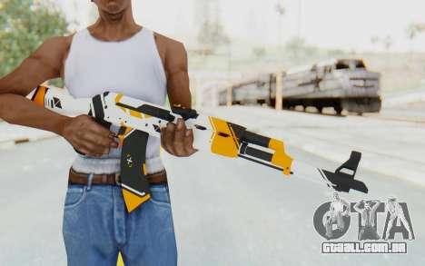 CS:GO - AK-47 Asiimov para GTA San Andreas terceira tela