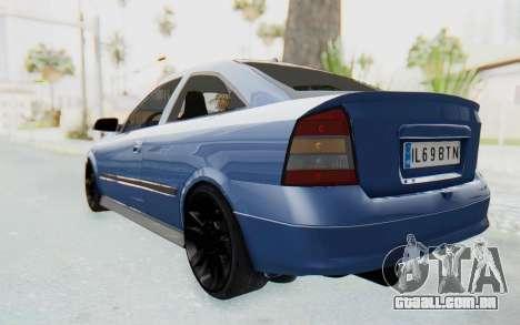 Opel Bertone para GTA San Andreas traseira esquerda vista