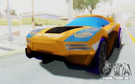 Hot Wheels AcceleRacers 4 para GTA San Andreas