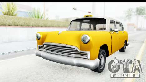 Cabbie London para GTA San Andreas vista direita