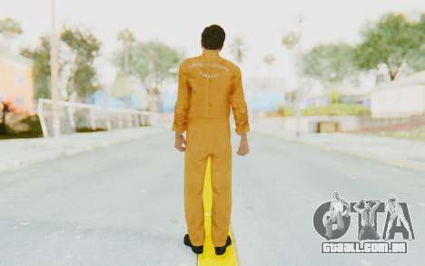 Mafia 2 - Vito Scaletta Robber para GTA San Andreas terceira tela
