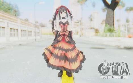 Kurumi Tokisaki (Date A Live) para GTA San Andreas segunda tela