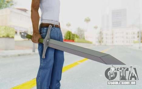 Trunks Del Futuro Katana para GTA San Andreas