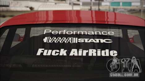 BMW E36 Stance para GTA San Andreas vista direita