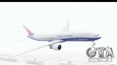 Boeing 777-300ER China Airlines Dreamliner para GTA San Andreas