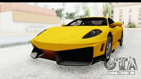 Ferrari F430 SVR para GTA San Andreas vista direita