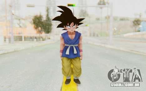 Dragon Ball Xenoverse Goku Kid GT SJ para GTA San Andreas segunda tela