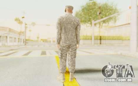 Military Casual Outfit para GTA San Andreas terceira tela