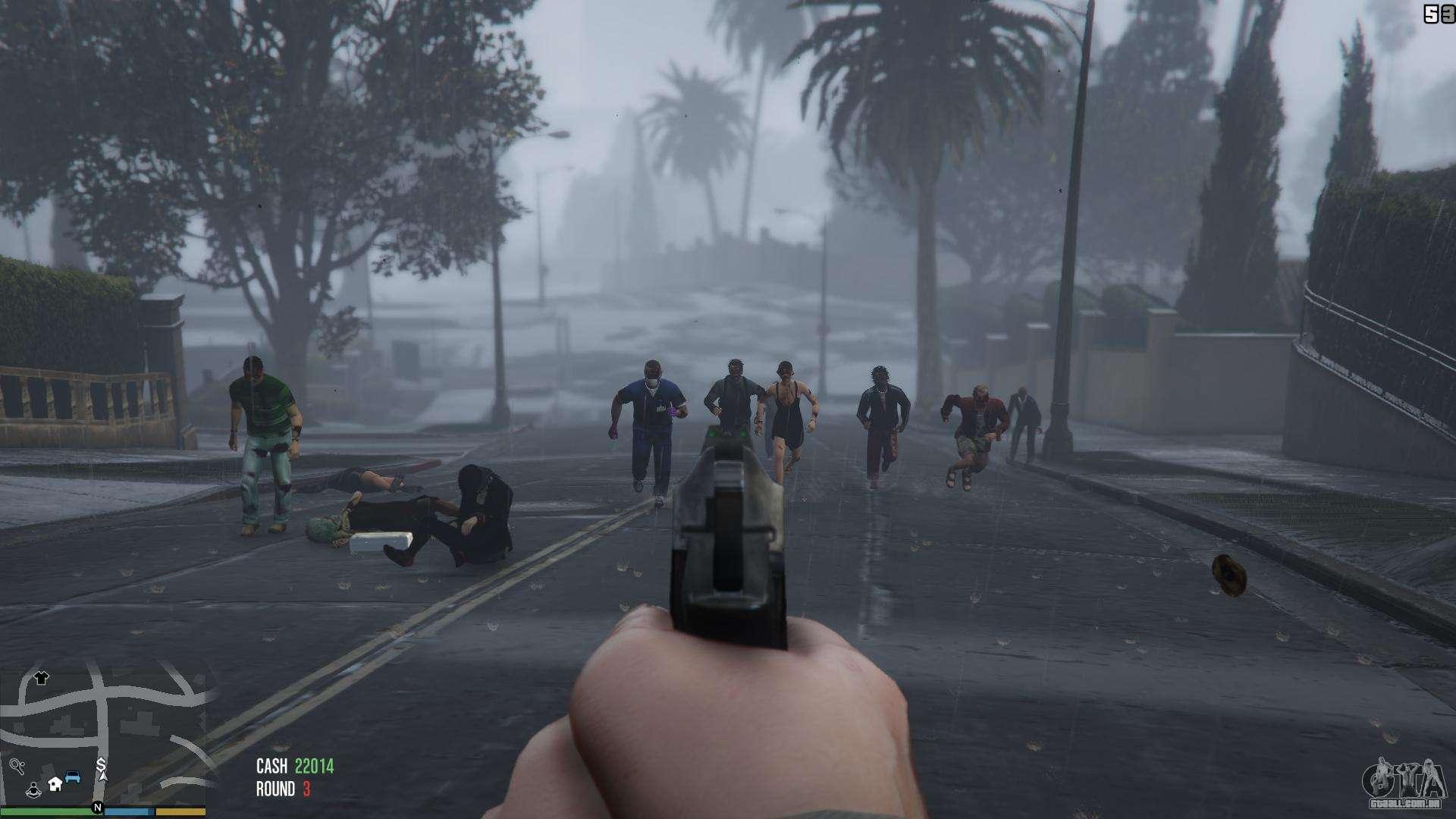 Zombies 1 4 2a Para Gta 5