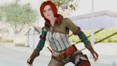 The Witcher 3 - Triss Merigold WildHunt Outfit para GTA San Andreas
