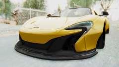 McLaren 650S Spyder ZenWorks para GTA San Andreas