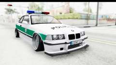BMW M3 E36 Stance Lithuanian Police