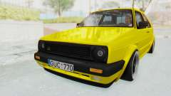 Volkswagen Golf Mk2 Lemon para GTA San Andreas