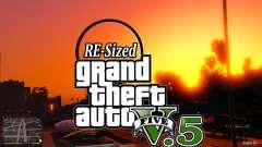 GTA V RE-Sized V5.5 ( Estável )