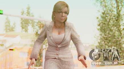 Dead Rising - Jessica McCartney para GTA San Andreas