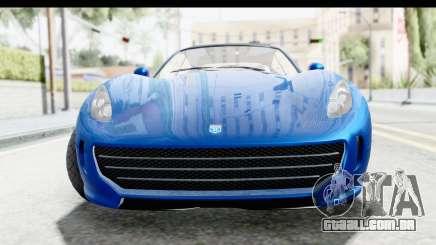 GTA 5 Grotti Bestia GTS para GTA San Andreas