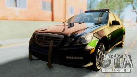 Mercedes-Benz E63 German Police Green para GTA San Andreas