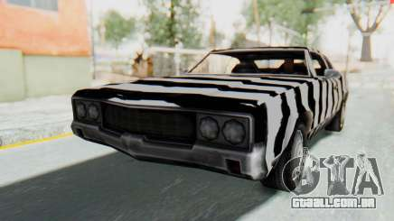 White Zebra Sabre Turbo para GTA San Andreas