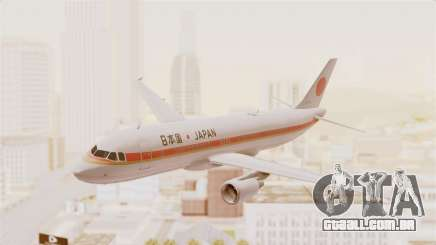 Airbus A320-200 Japanese Air Force One para GTA San Andreas