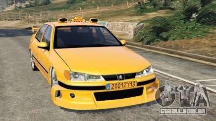 Taxi Peugeot 406 para GTA 5