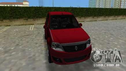 Renault Logan para GTA Vice City