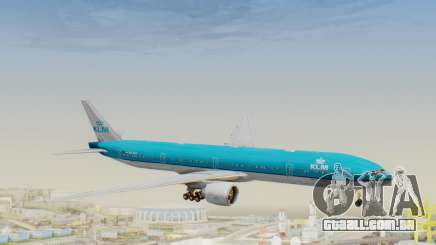 Boeing 777-300ER KLM - Royal Dutch Airlines v3 para GTA San Andreas
