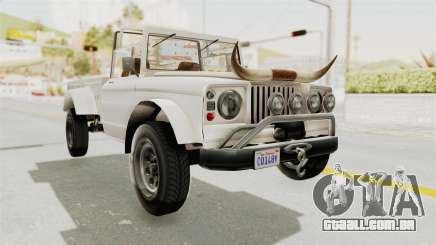 GTA 5 Canis Bodhi para GTA San Andreas