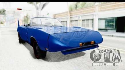 Dodge Charger Daytona 1969 Cabrio para GTA San Andreas