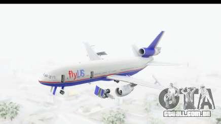 DC-10 Fly Us para GTA San Andreas