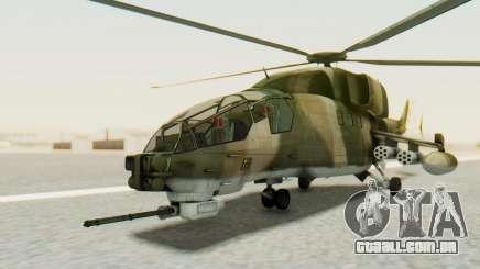 WZ-19 Attack Helicopter Asian para GTA San Andreas