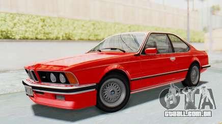 BMW M635 CSi (E24) 1984 IVF PJ2 para GTA San Andreas