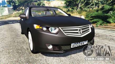 Honda Accord 2010 para GTA 5
