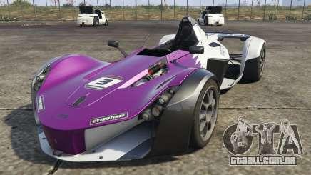 O BAC Mono (Novo modelo) para GTA 5