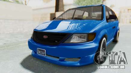 GTA 5 Vapid Minivan Custom para GTA San Andreas