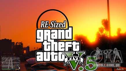 GTA V RE-Sized V5.5 ( Estável ) para GTA 5