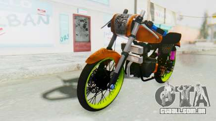 Honda CG125 Roadrace para GTA San Andreas
