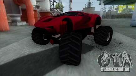 GTA V Vapid FMJ Monster Truck para GTA San Andreas