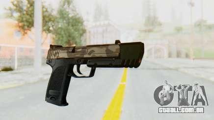 HK USP 45 Army para GTA San Andreas