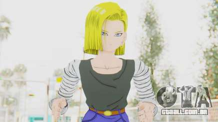 Dragon Ball Xenoverse Android 18 No Jacket para GTA San Andreas