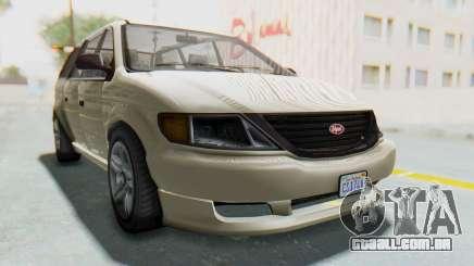 GTA 5 Vapid Minivan IVF para GTA San Andreas