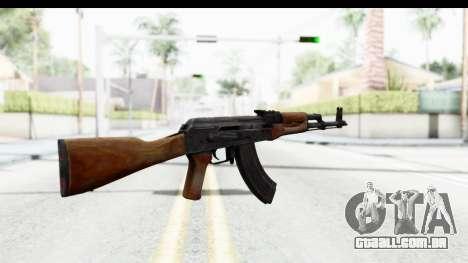 AKM 7.62 para GTA San Andreas segunda tela