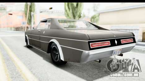 Imponte Tempest 1966 para GTA San Andreas traseira esquerda vista