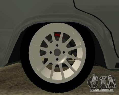 VAZ 2106 arménio para o motor de GTA San Andreas