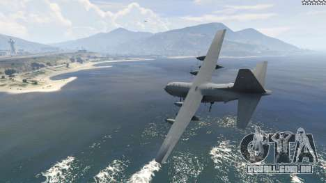 GTA 5 AC-130U Spooky II Gunship segundo screenshot