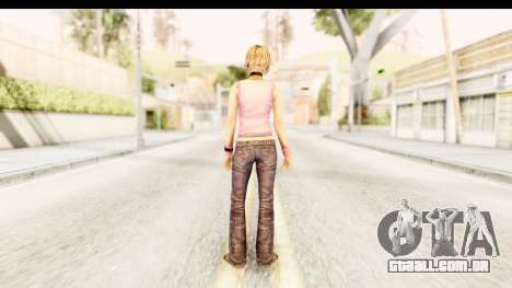 Silent Hill 3 - Heather Redone Less Gloomy para GTA San Andreas terceira tela