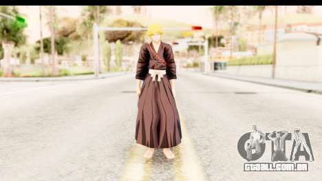 Bleach - Ichigo para GTA San Andreas segunda tela