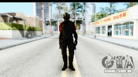 Homefront The Revolution - KPA v1 Black para GTA San Andreas segunda tela